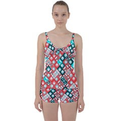 Pattern Factory 32d Tie Front Two Piece Tankini