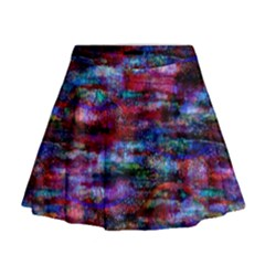 Fairy Earth Tree Texture Pattern Mini Flare Skirt