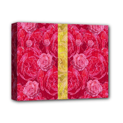 Rose And Roses And Another Rose Deluxe Canvas 14  X 11