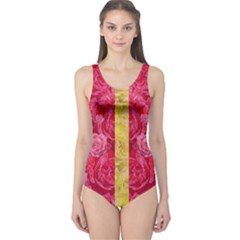 Rose And Roses And Another Rose One Piece Swimsuit