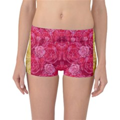 Rose And Roses And Another Rose Reversible Boyleg Bikini Bottoms