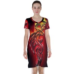 Dragon Fire Short Sleeve Nightdress