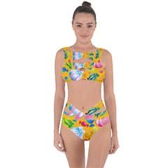 Sweets And Sugar Candies Vector  Bandaged Up Bikini Set