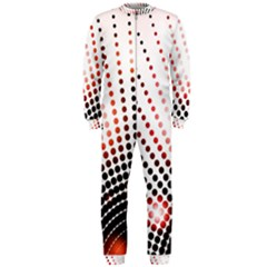 Radial Dotted Lights Onepiece Jumpsuit (men)