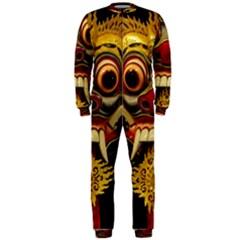 Bali Mask Onepiece Jumpsuit (men)