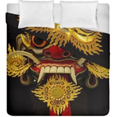 Bali Mask Duvet Cover Double Side (king Size)