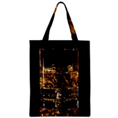 Drink Good Whiskey Zipper Classic Tote Bag