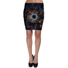 Crazy  Giant Galaxy Nebula Bodycon Skirt