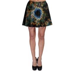 Crazy  Giant Galaxy Nebula Skater Skirt