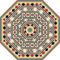 Tribal Pattern Hook Handle Umbrellas (medium)