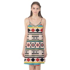 Tribal Pattern Camis Nightgown