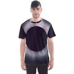 Solar Eclipse Men s Sports Mesh Tee