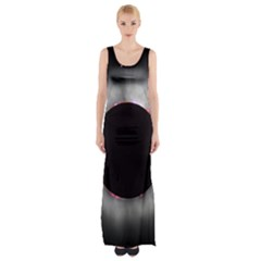 Solar Eclipse Maxi Thigh Split Dress