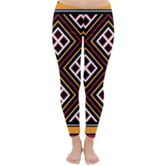Toraja Pattern Pa re po  Sanguba ( Dancing Alone ) Classic Winter Leggings