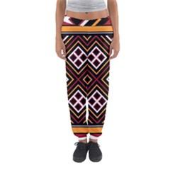 Toraja Pattern Pa re po  Sanguba ( Dancing Alone ) Women s Jogger Sweatpants