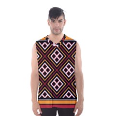 Toraja Pattern Pa re po  Sanguba ( Dancing Alone ) Men s Basketball Tank Top