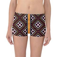 Toraja Pattern Pa re po  Sanguba ( Dancing Alone ) Boyleg Bikini Bottoms