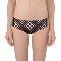Toraja Pattern Pa re po  Sanguba ( Dancing Alone ) Classic Bikini Bottoms