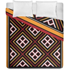 Toraja Pattern Pa re po  Sanguba ( Dancing Alone ) Duvet Cover Double Side (california King Size)