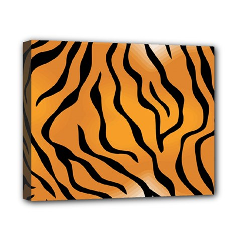 Tiger Skin Pattern Canvas 10  X 8