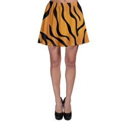 Tiger Skin Pattern Skater Skirt