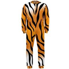 Tiger Skin Pattern Onepiece Jumpsuit (men)