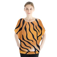 Tiger Skin Pattern Blouse