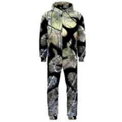 Black Love Browning Deer Camo Hooded Jumpsuit (men)