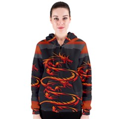 Dragon Women s Zipper Hoodie