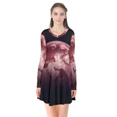 Planet Fantasy Art Flare Dress