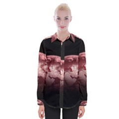 Planet Fantasy Art Womens Long Sleeve Shirt