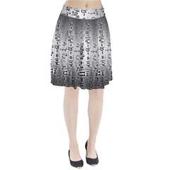 Science Formulas Pleated Skirt