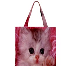 Cat  Animal  Kitten  Pet Zipper Grocery Tote Bag