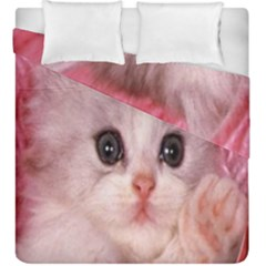 Cat  Animal  Kitten  Pet Duvet Cover Double Side (king Size)