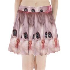 Cat  Animal  Kitten  Pet Pleated Mini Skirt