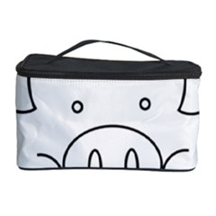Pig Logo Cosmetic Storage Case