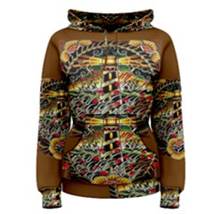 Tattoo Art Print Traditional Artwork Lighthouse Wave Women s Pullover Hoodie