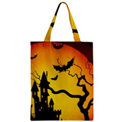 Halloween Night Terrors Zipper Classic Tote Bag
