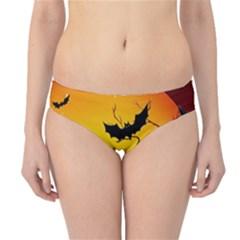 Halloween Night Terrors Hipster Bikini Bottoms