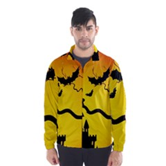 Halloween Night Terrors Wind Breaker (men)