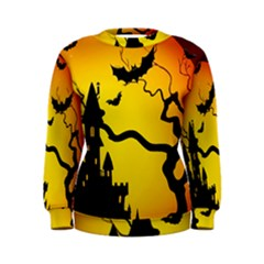 Halloween Night Terrors Women s Sweatshirt