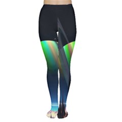 Planets In Space Stars Women s Tights