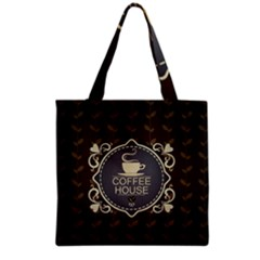 Coffee House Grocery Tote Bag