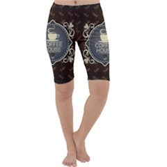 Coffee House Cropped Leggings