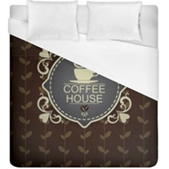 Coffee House Duvet Cover (king Size)