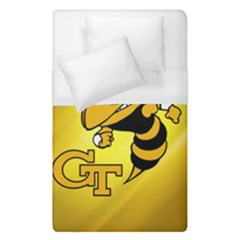 Georgia Institute Of Technology Ga Tech Duvet Cover (single Size)
