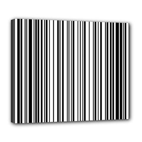 Barcode Pattern Deluxe Canvas 24  X 20