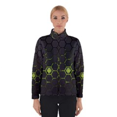 Green Android Honeycomb Gree Winterwear