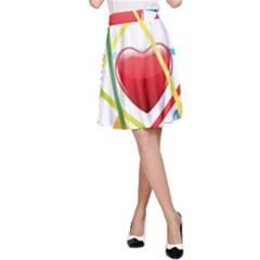 Love A Line Skirt
