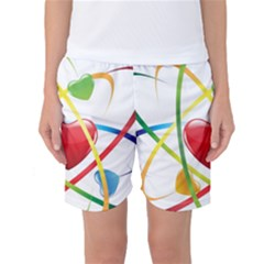 Love Women s Basketball Shorts